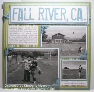Scrapbook - Fall River, CA - Artisan Award 2008 Submission