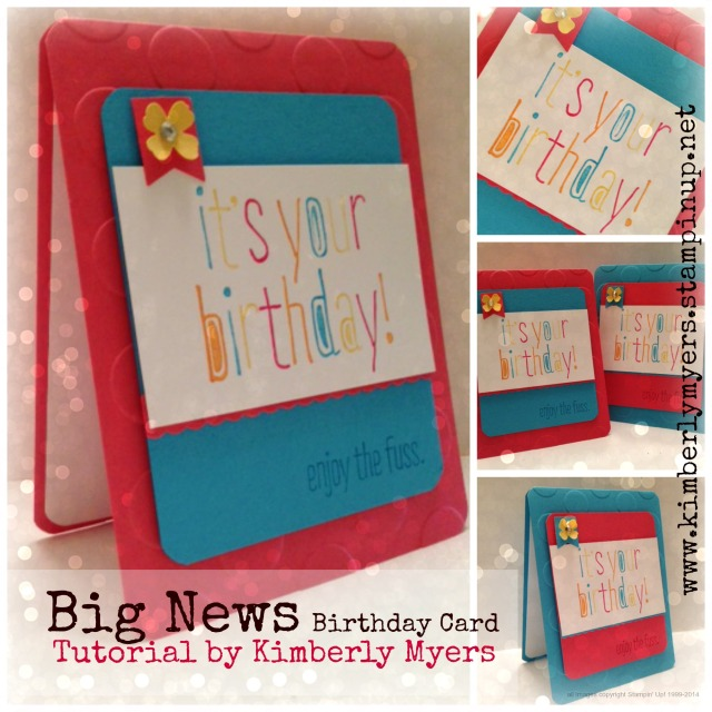 Big News Tutorial by Kimberly Myers