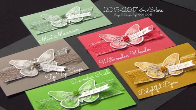 Stampin Up! 2015-2017 In Colors
