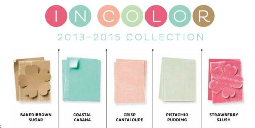 2013-2015 Stampin' Up! In Colors