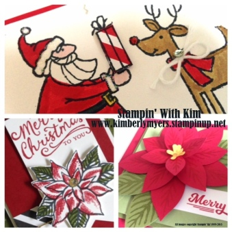 Stampin' With Kim - Sweet Inkspirations Christmas Card Class