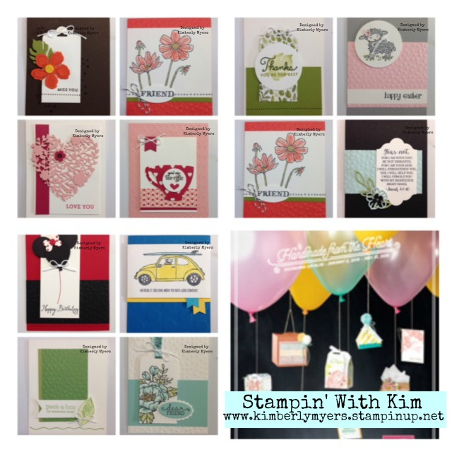 Stampin' Leader Occasions Swap Cards 2015